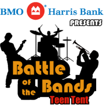 Click here to register for the <br>Teen Battle of the Bands
