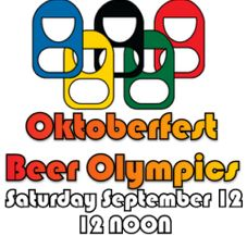 OKTOBERFEST Beer Olympics